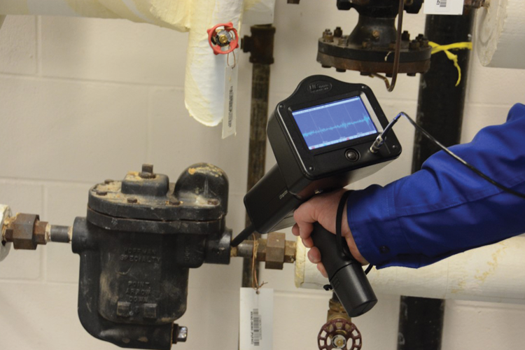 Steam Trap Testing Using Ultrasound